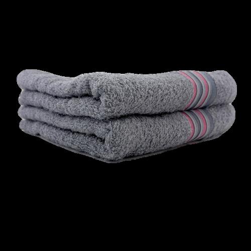 Хавлиена кърпа за лице и ръце Класик в сиво