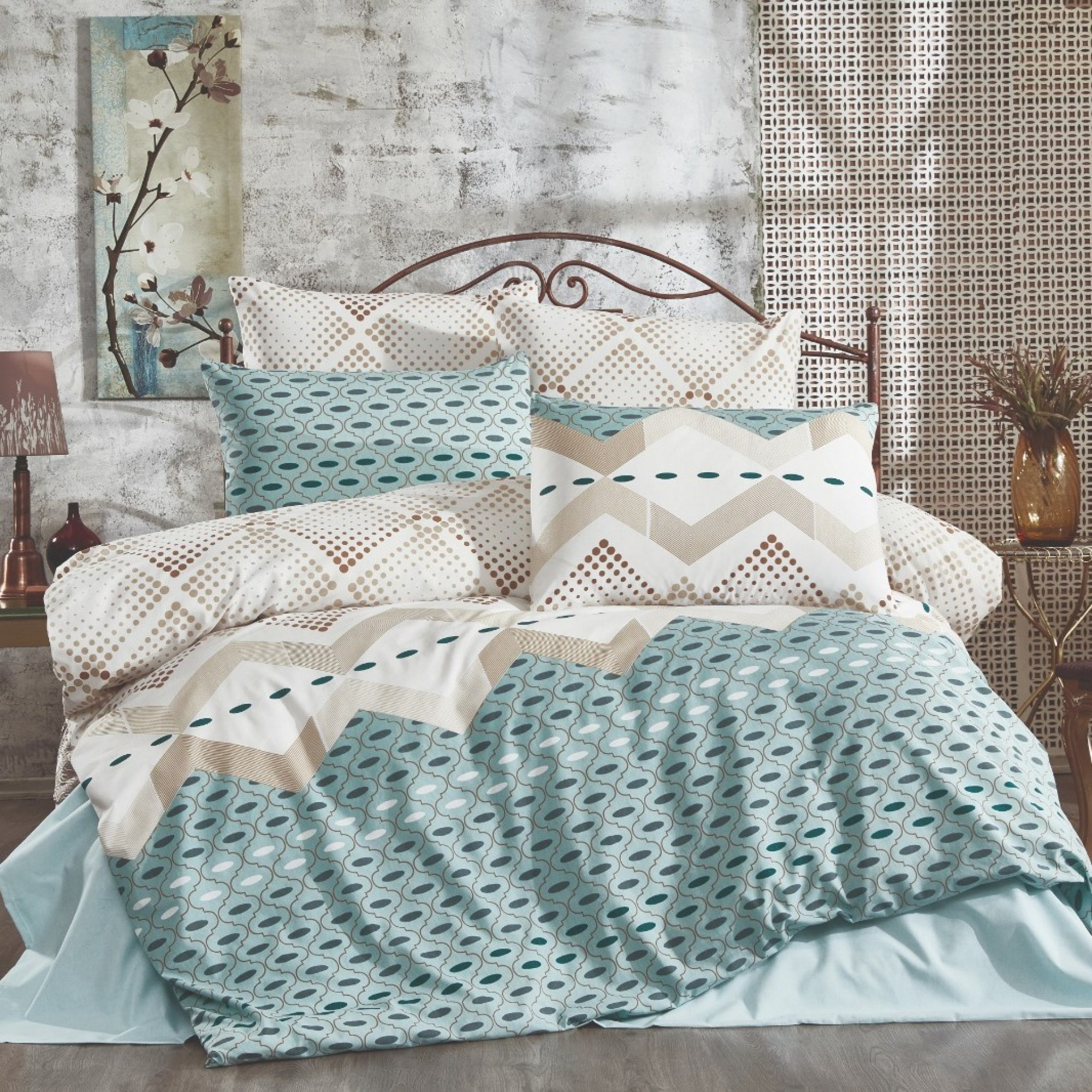 Спално бельо Sarina от Ранфорс