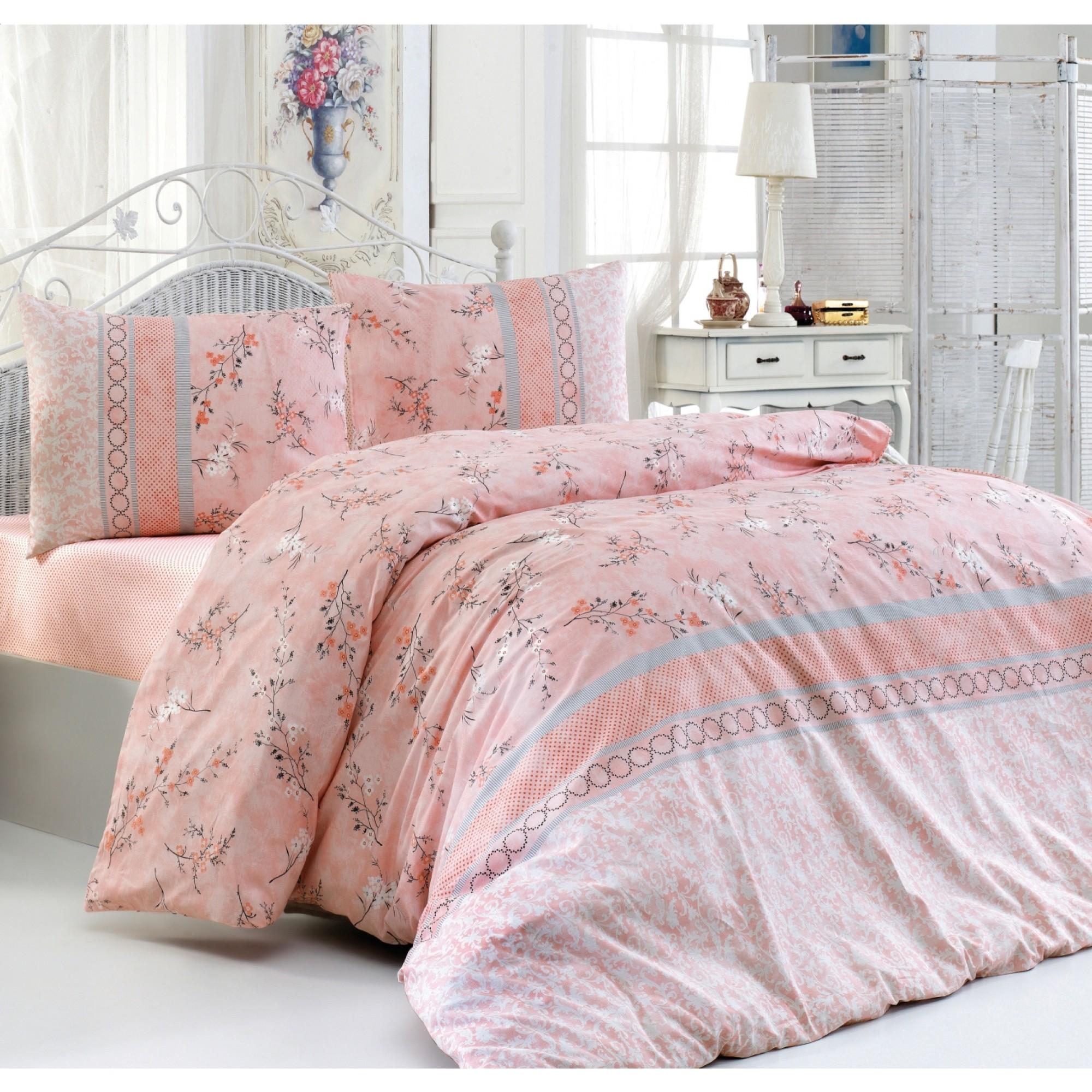 Памучно спално бельо Spring Love