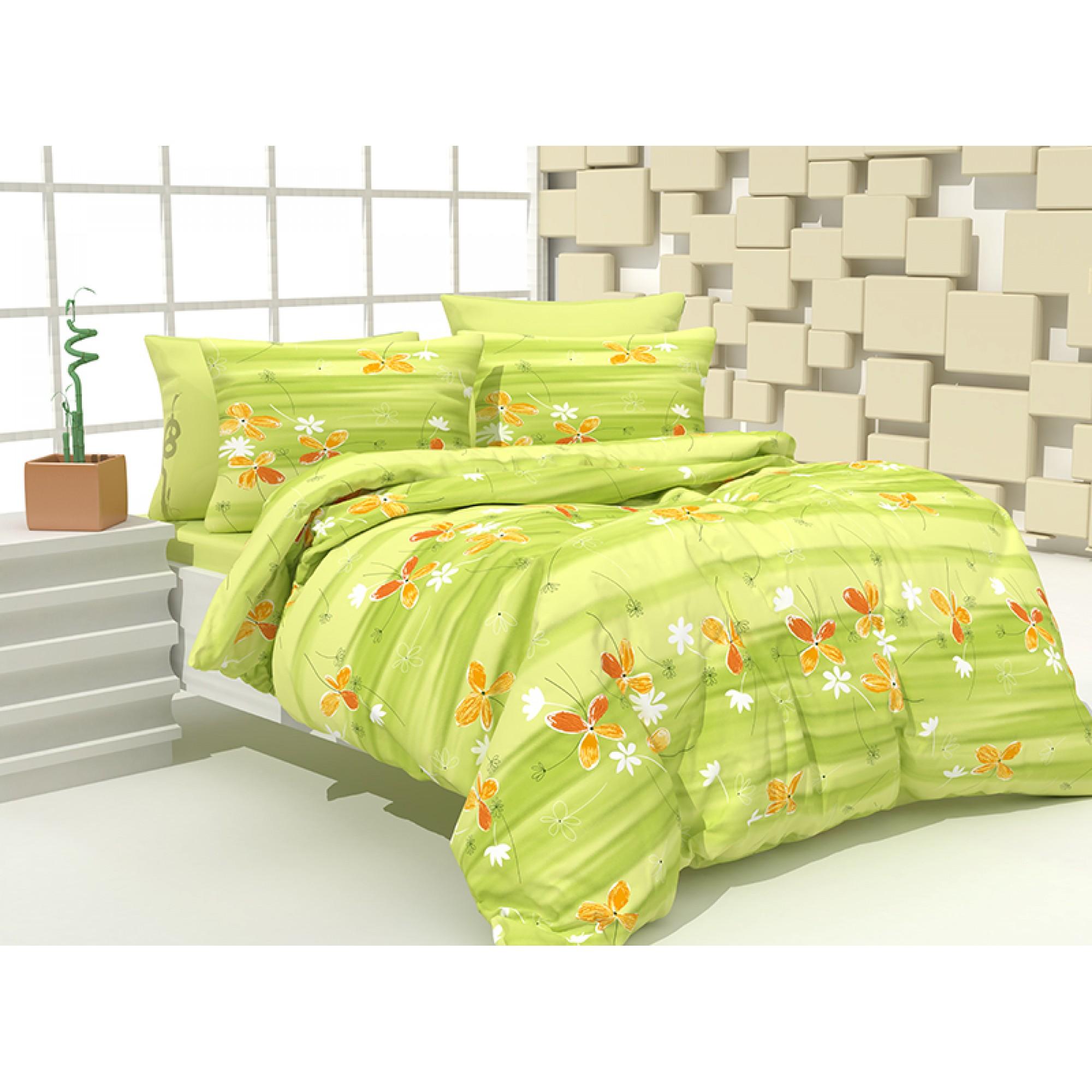 Спално бельо Градина от 100% Памук
