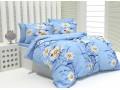 Спално бельо 100% Памук Ladybug в синьо