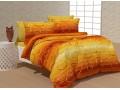 Спално бельо 100% Памук Bubble в оранжево