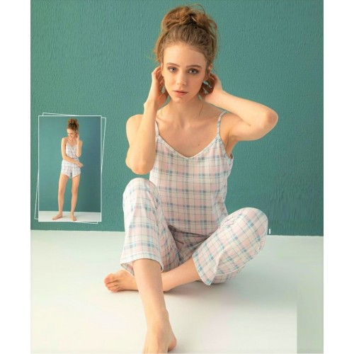 "Дамска пижама ""Belly"" от 3 части"