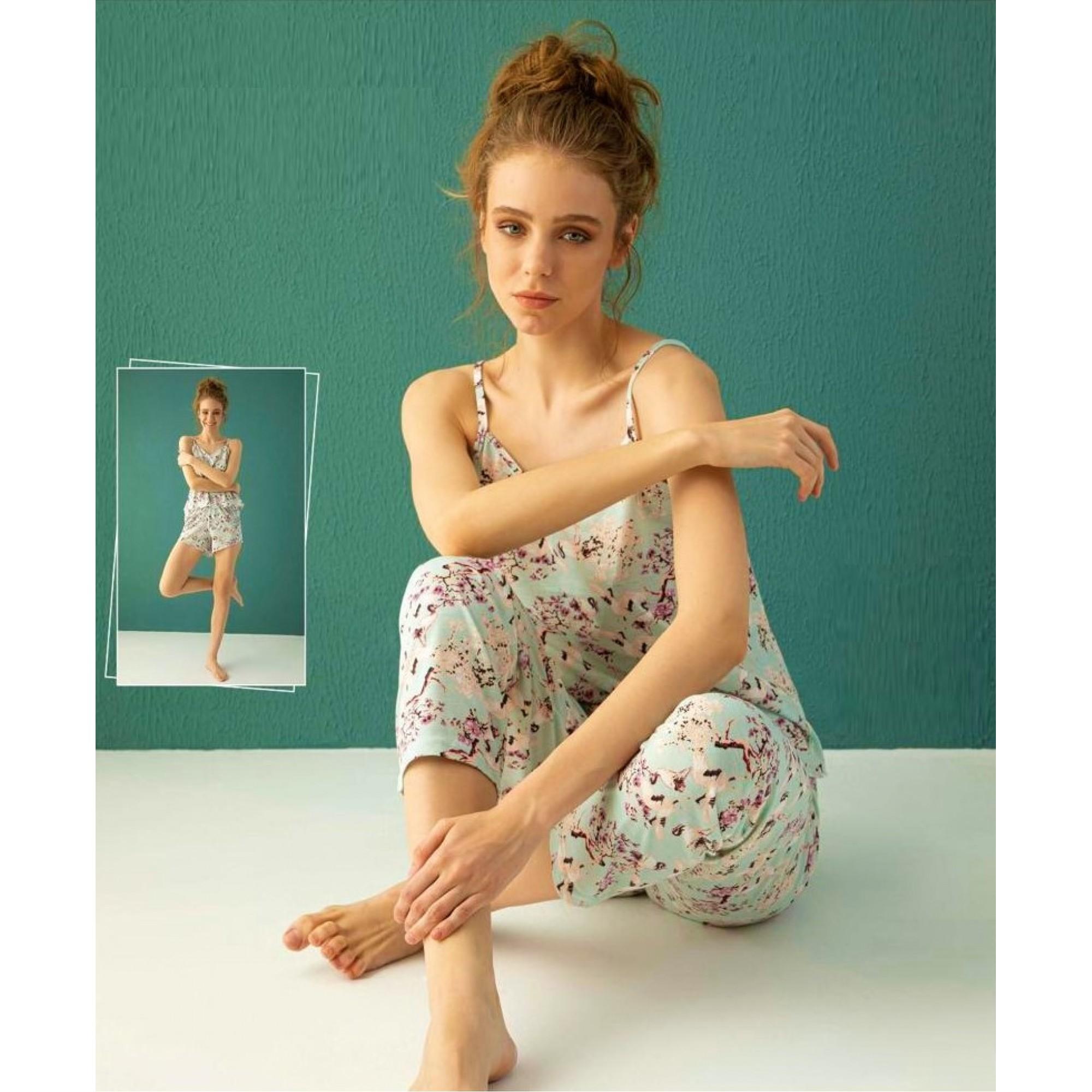 "Дамска пижама от 3 части ""Spring"""