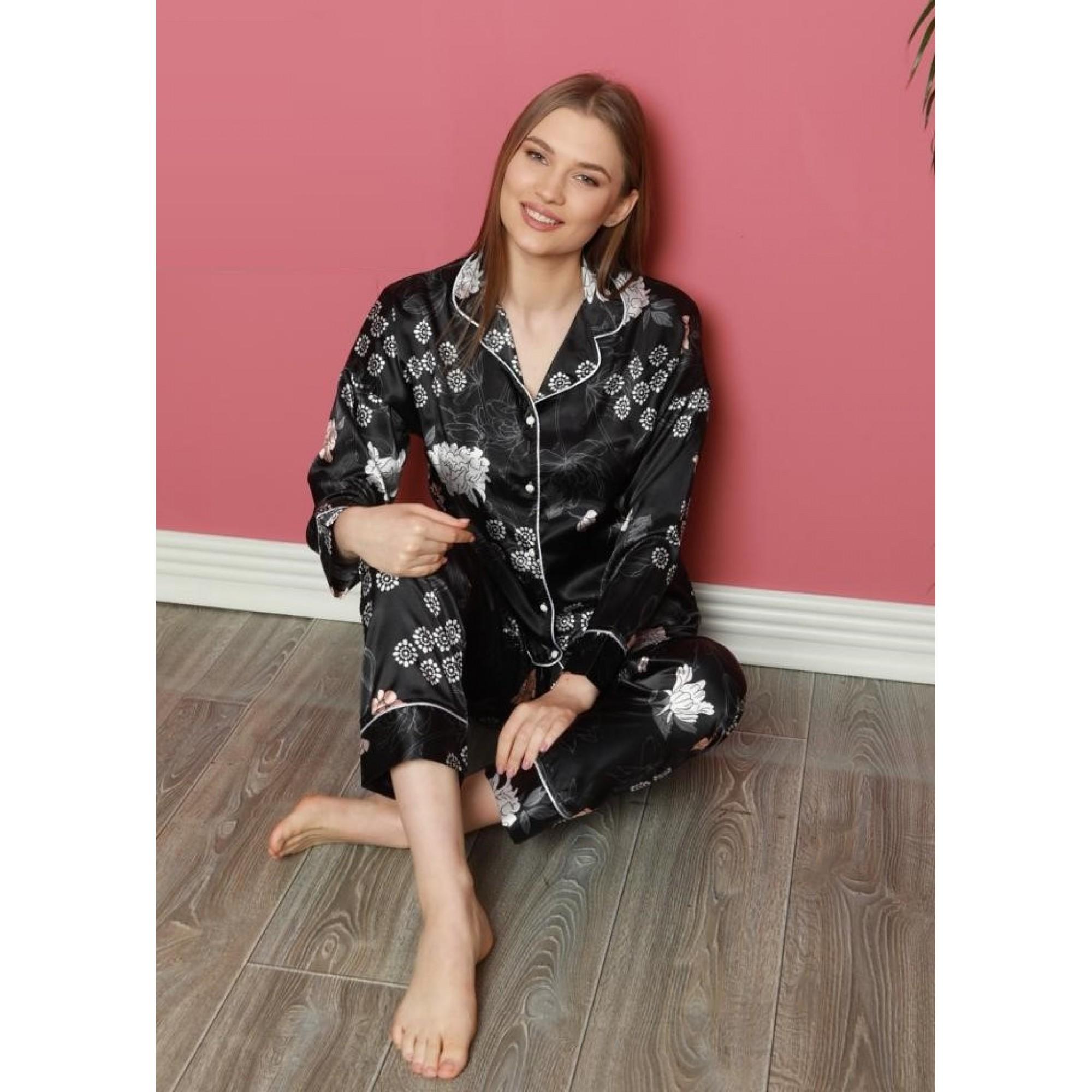 Annika луксозна сатенена пижама