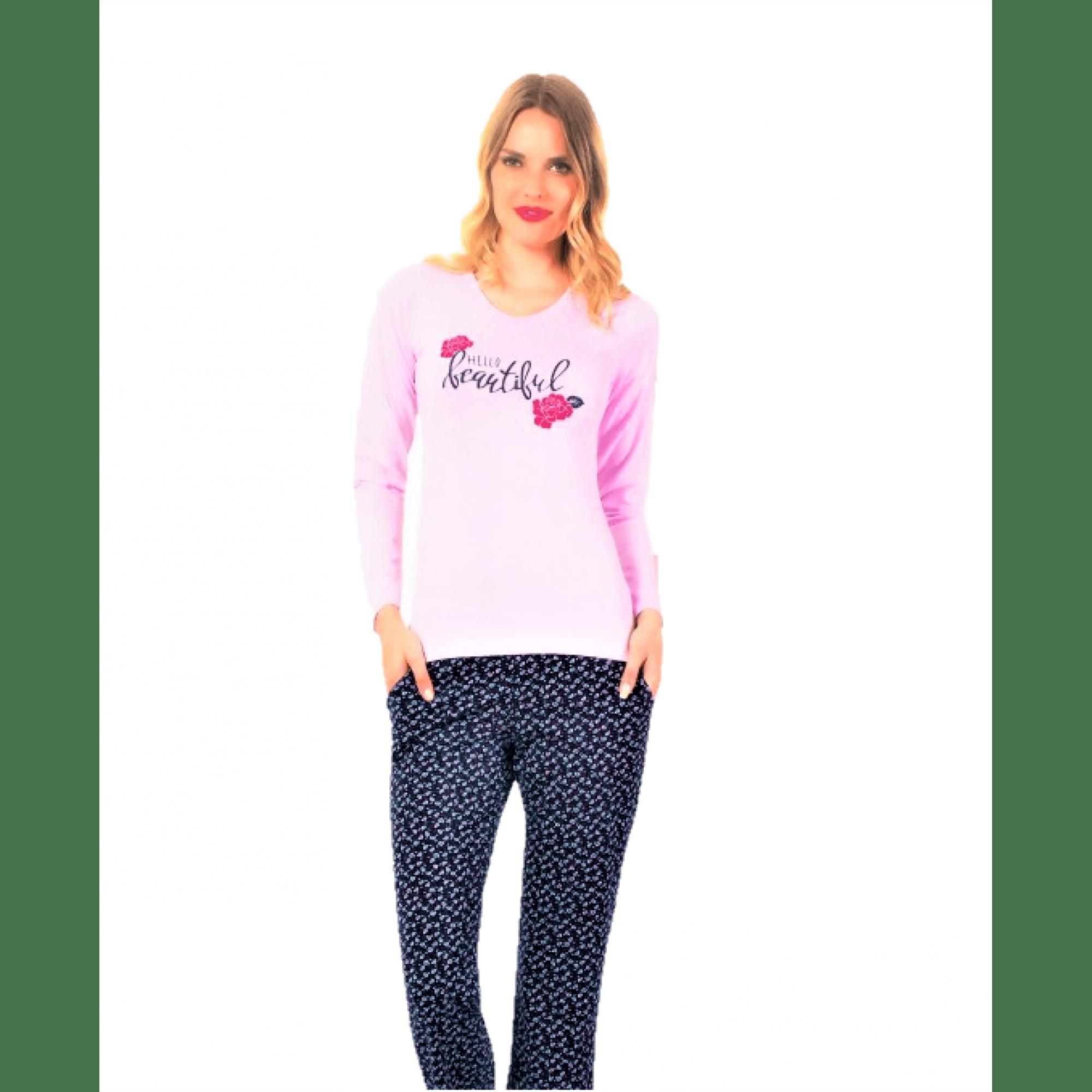 Дамска пижама Hello Beautiful от Модал