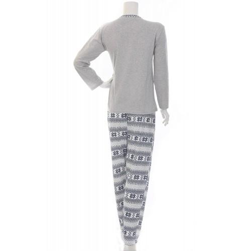 Памучна дамска пижама Орнаменти
