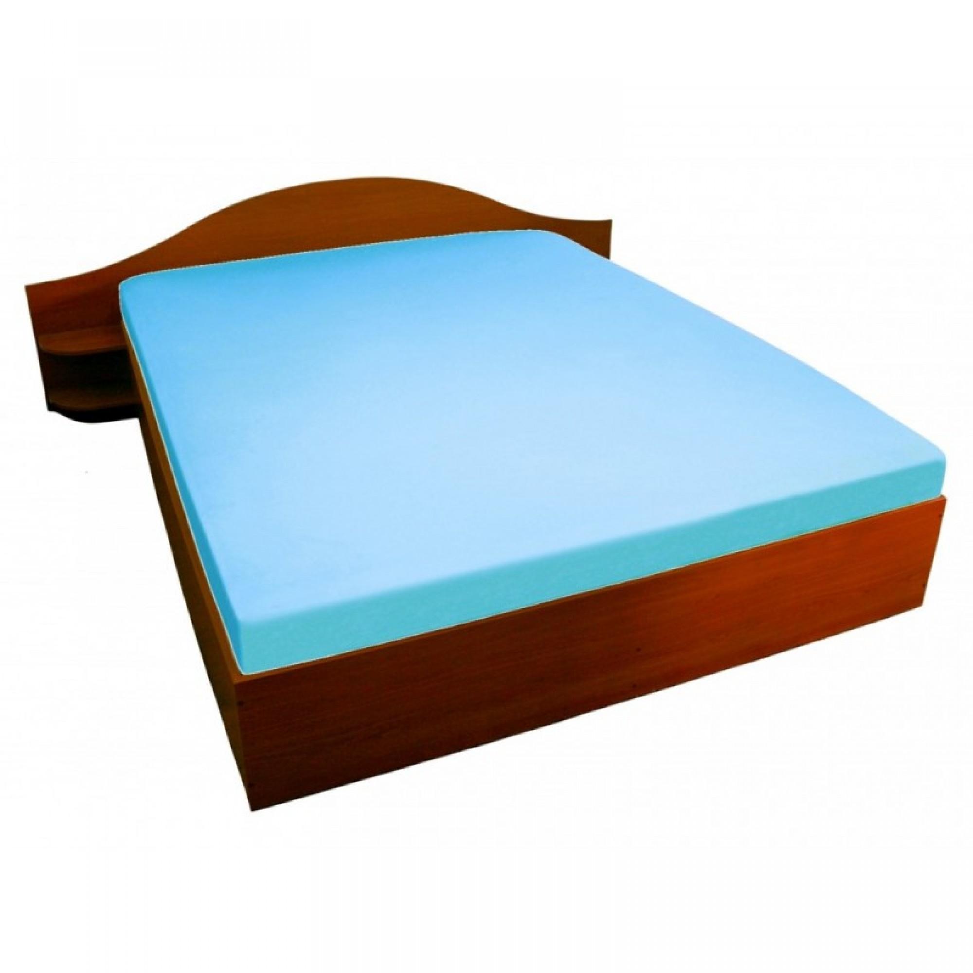 Чаршаф с ластик BLUE - 100% памучно трико