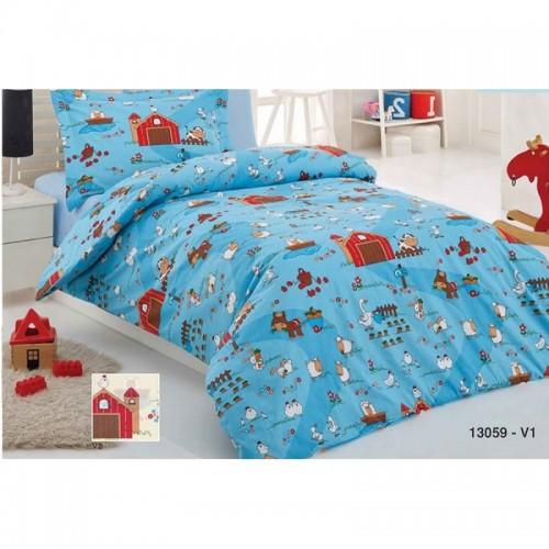 Бебешки спален комплект ФЕРМА - Ранфорс