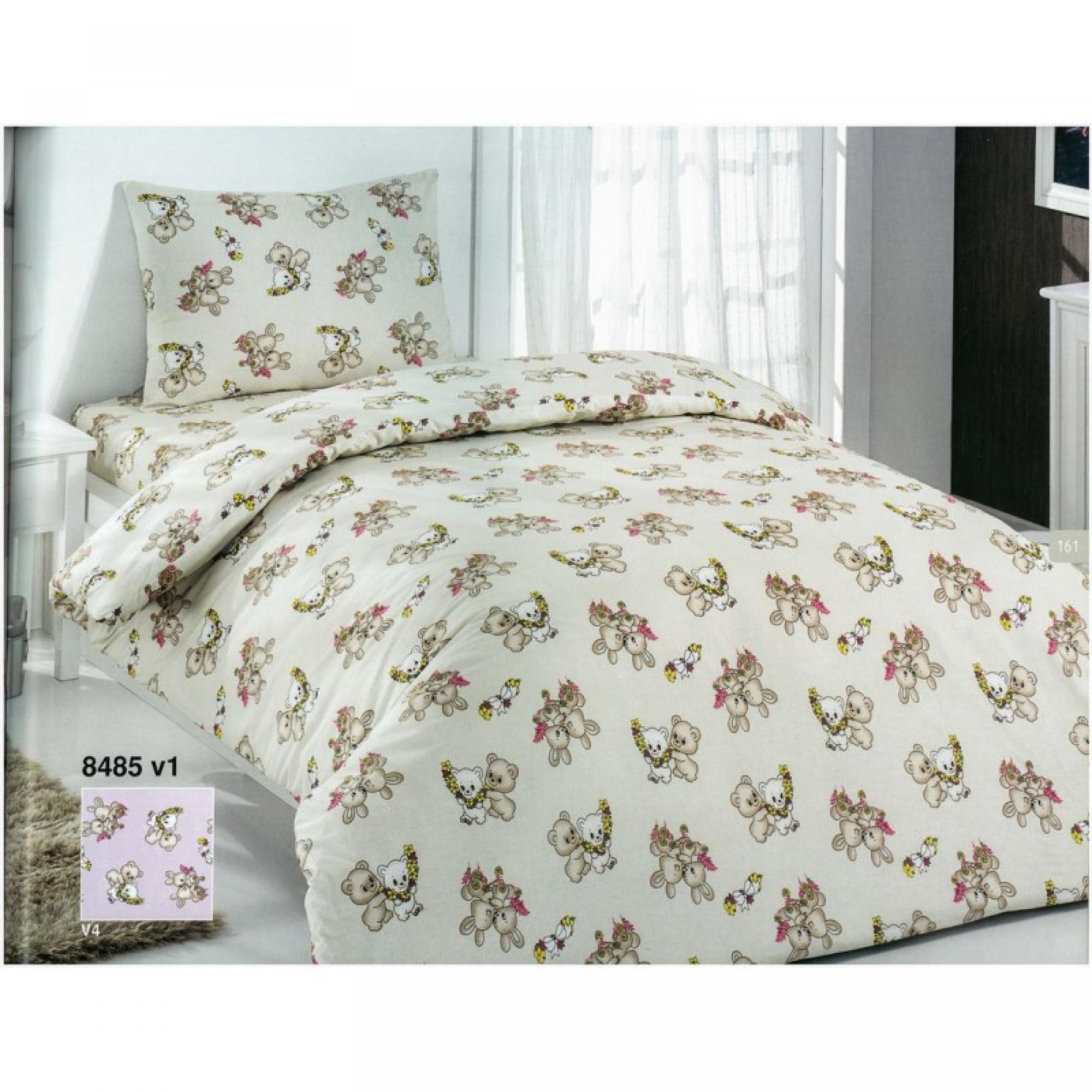 Бебешко спално бельо TEDDY - Ранфорс