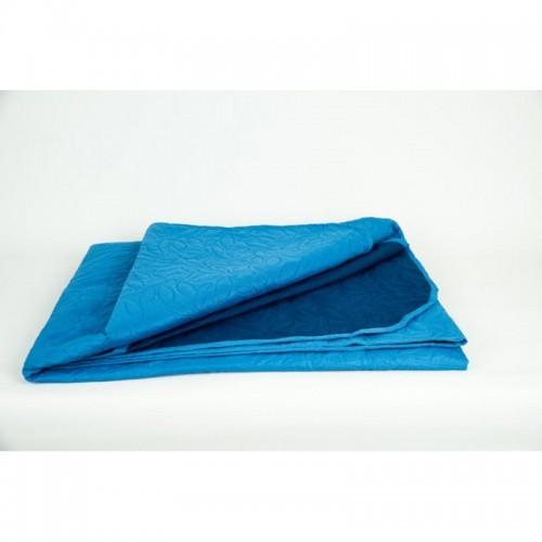 Двулицево шалте BLUE - 100% Микрофибър