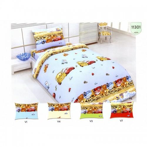 Детско спално бельо CARSS – 100% памук