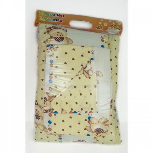 100% Памук бебешки спален комплект TEDDY BEAR