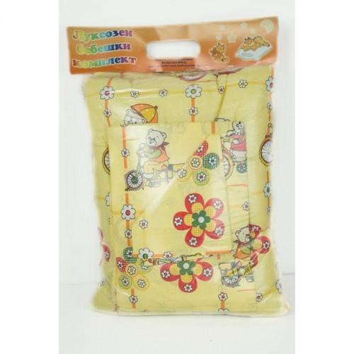 Комплект бебешки чаршафи  МЕЧЕНЦЕ от 100% Памук