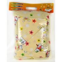 Бебешки памучен комплект чаршафи  BUNNY