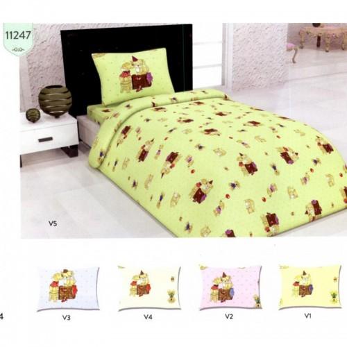 Бебешки спален комплект Ранфорс Inlove Puppy 100% Памук