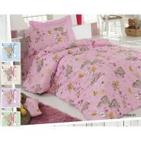 Бебешки спален комплект Ранфорс Мечета и патета 100% Памук