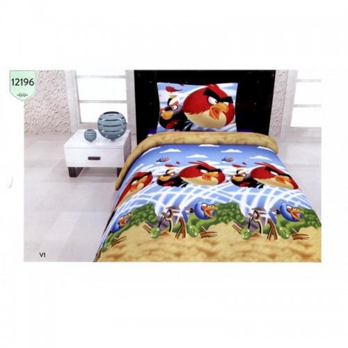 Детско спално бельо Angry Birds Rio – 100% Памук
