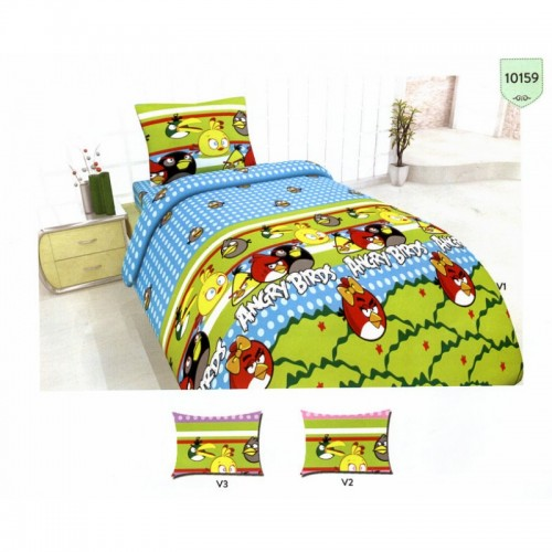 Детско спално бельо Angry Birds 2 - 100% Памук