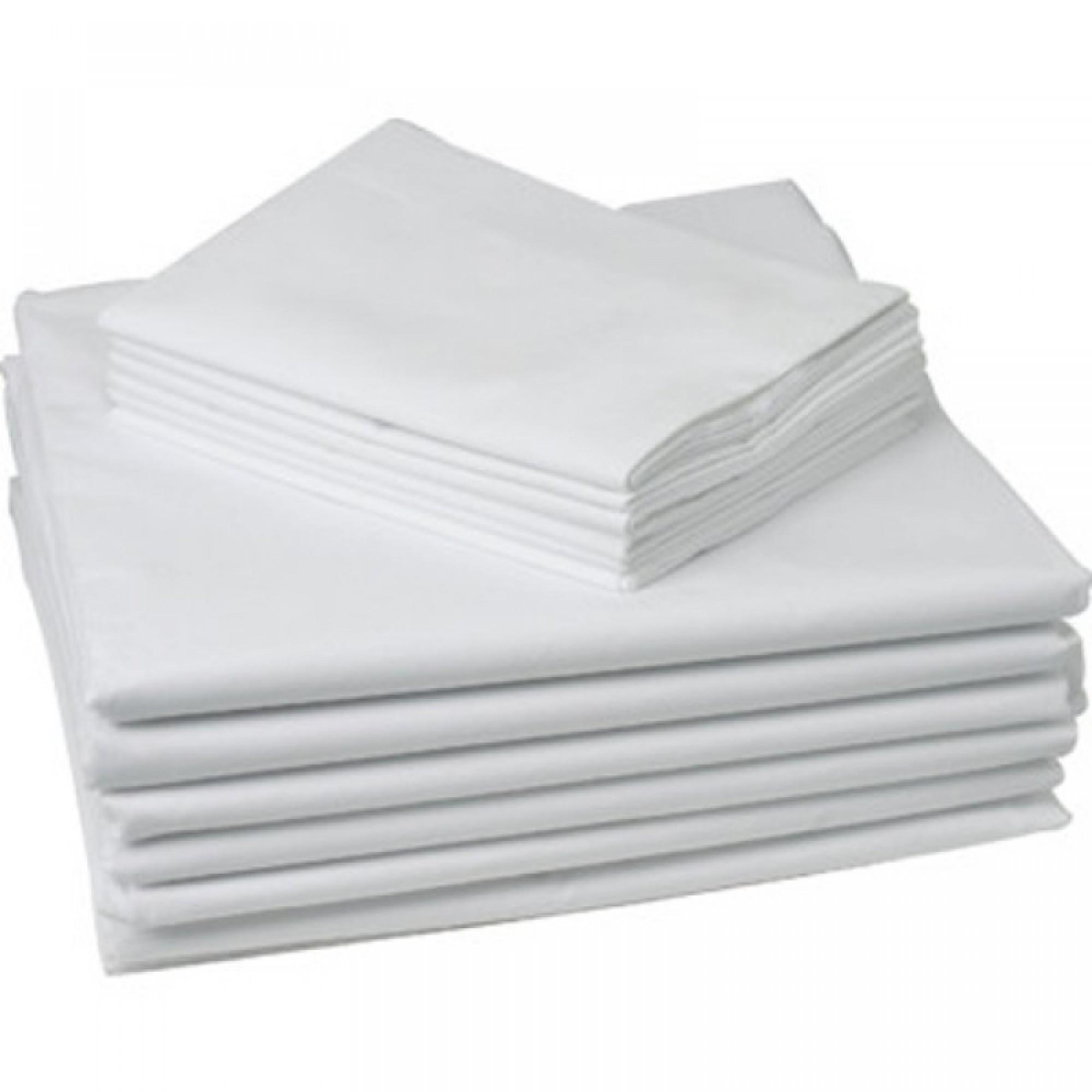 "Калъфка за възглавница Ранфорс ""White"" – 100% Памук"