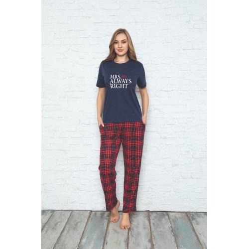 Комплект дамска и мъжка пижама Mr. and Mrs. Right