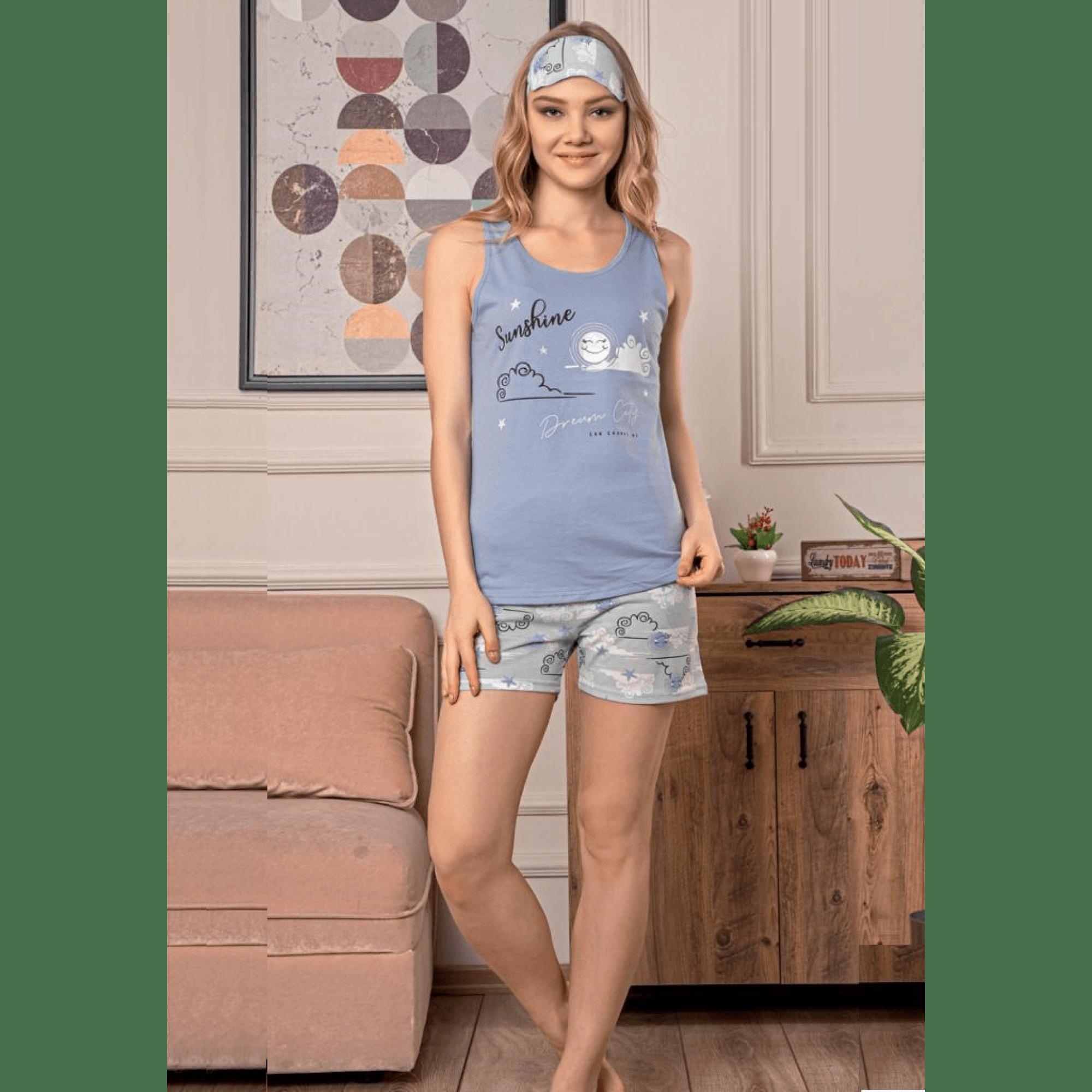 Дамска лятна пижама Sunshine