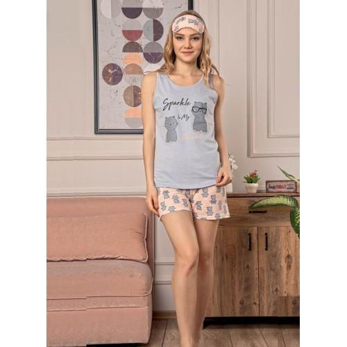 Дамска лятна пижама Sparkle с безплатна доставка