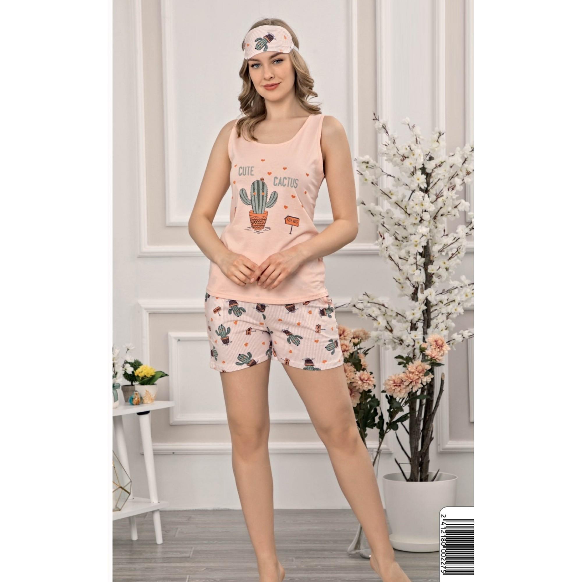 Дамската лятна пижама Кактус