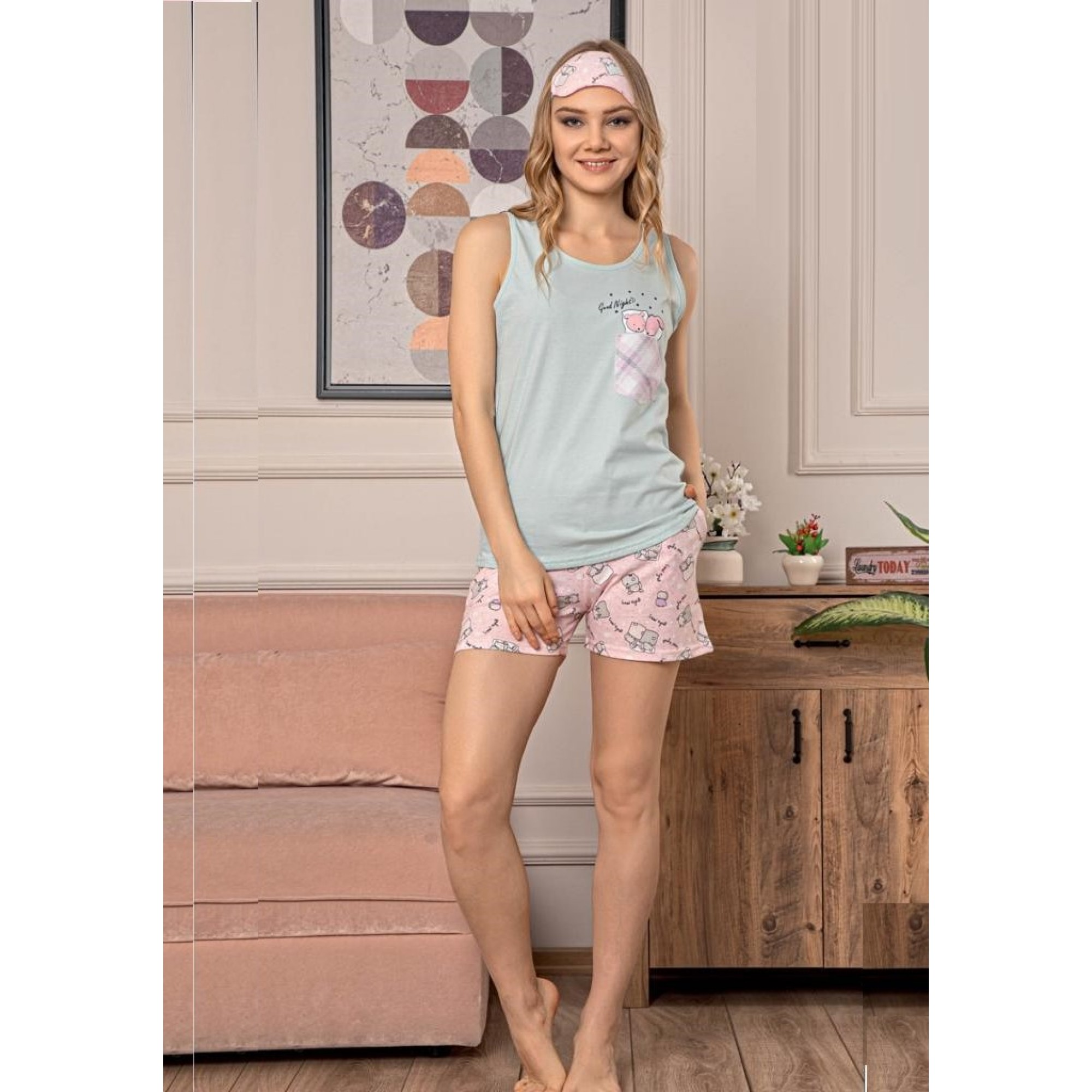 Good night дамска лятна пижама