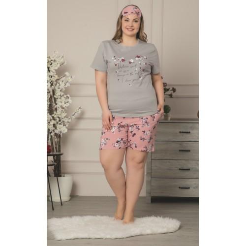 Дамска макси пижама Heart за лятото