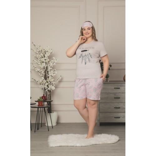 Дамска макси пижама  The new wave за лятото