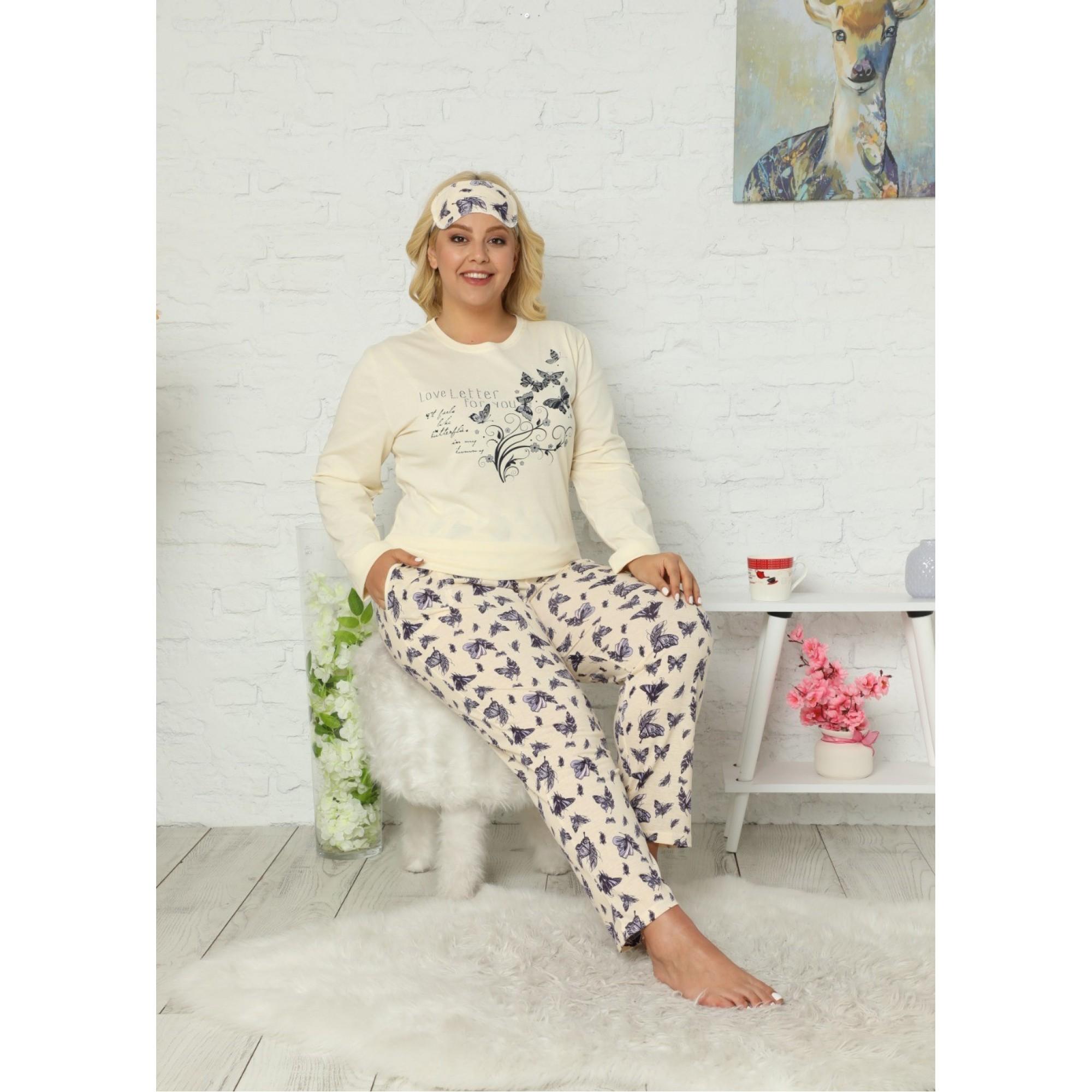 Дамска макси пижама Ася