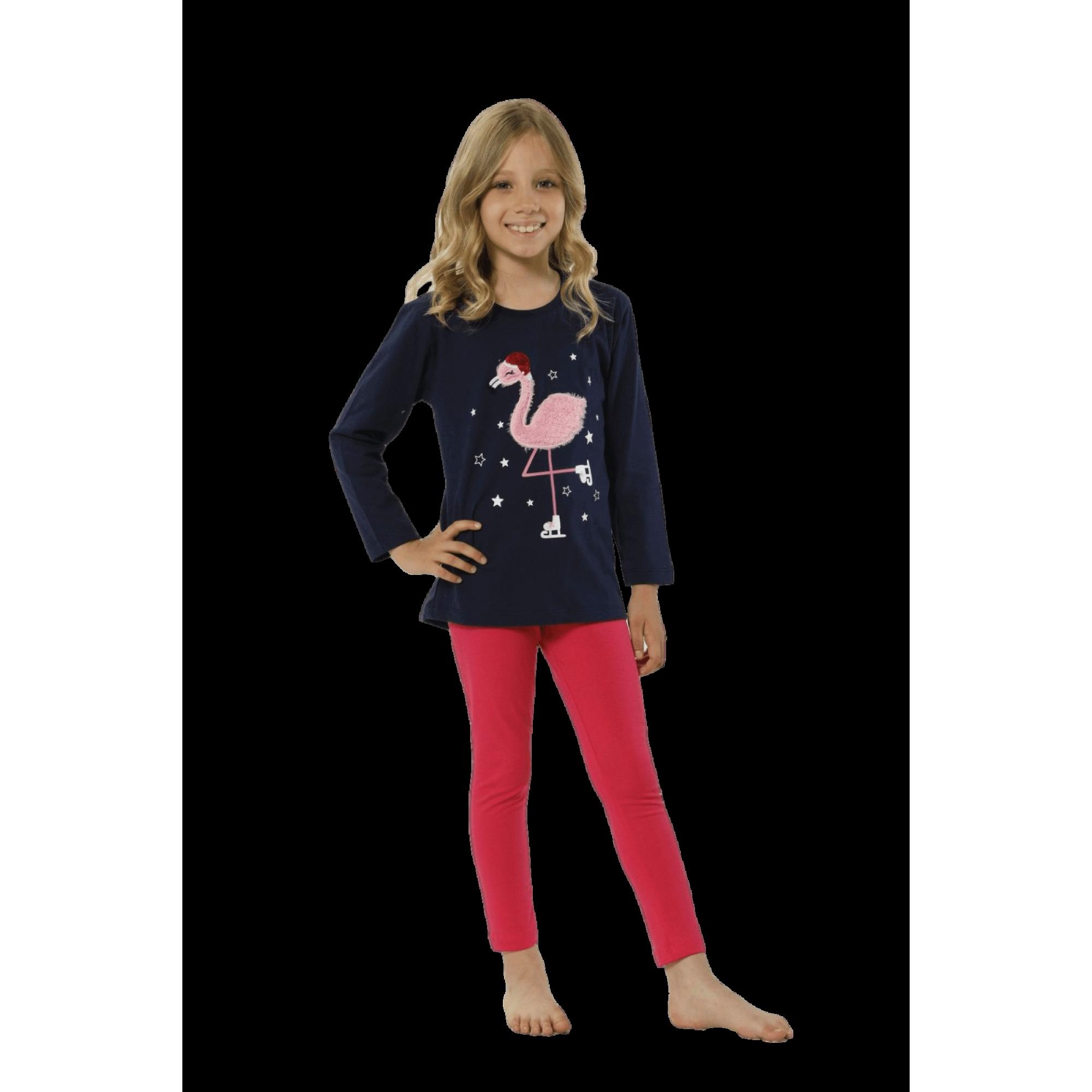Детска пижама Фламинго