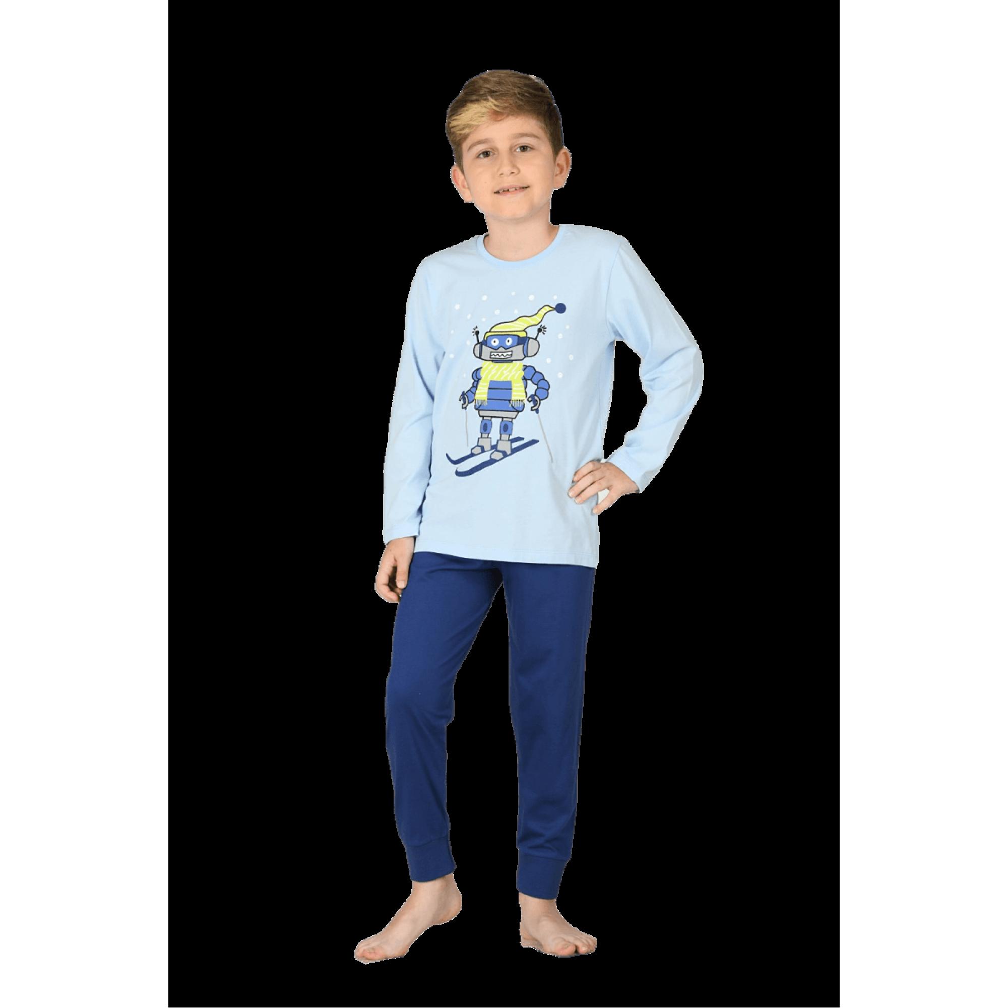 """Детска пижама """"Сноуборд"""" от 100% Памук"""