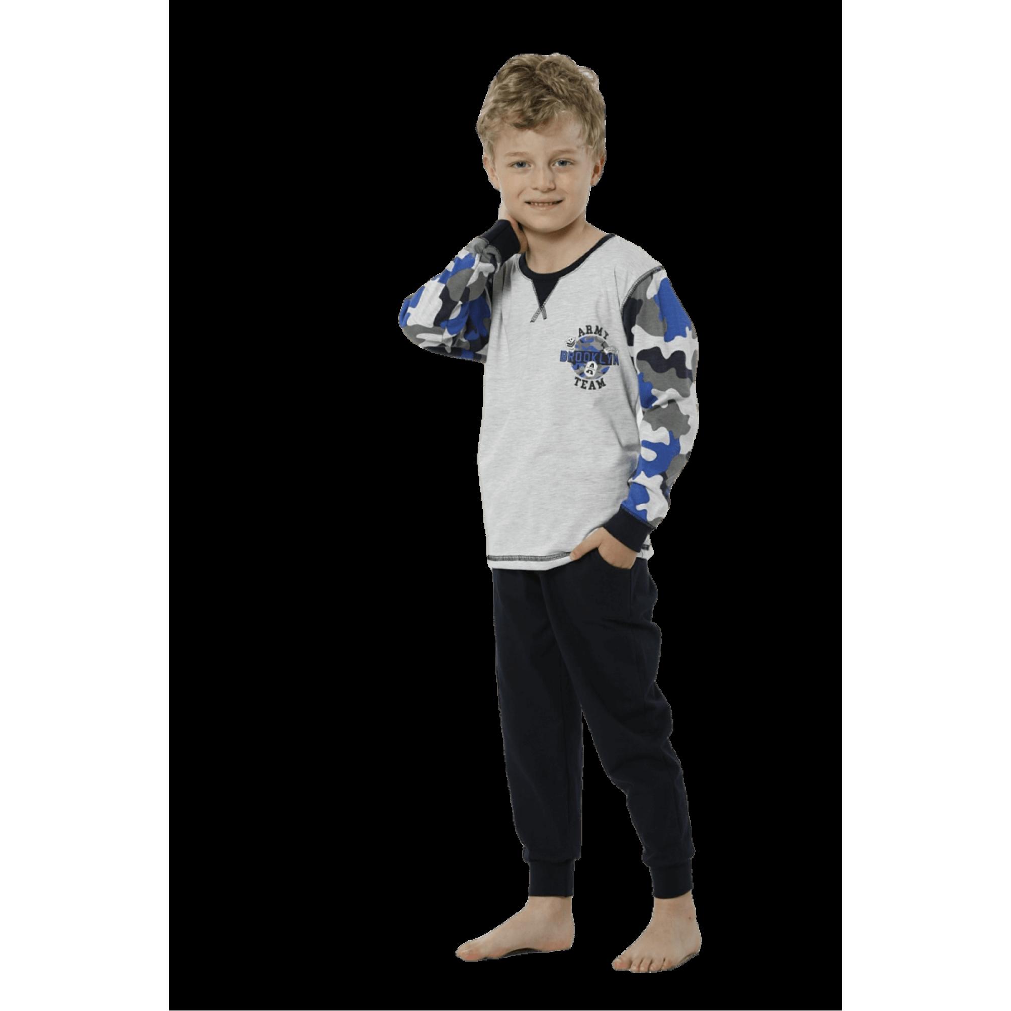 """Детска пижама """"Милитъри"""" - 100% Памук"""