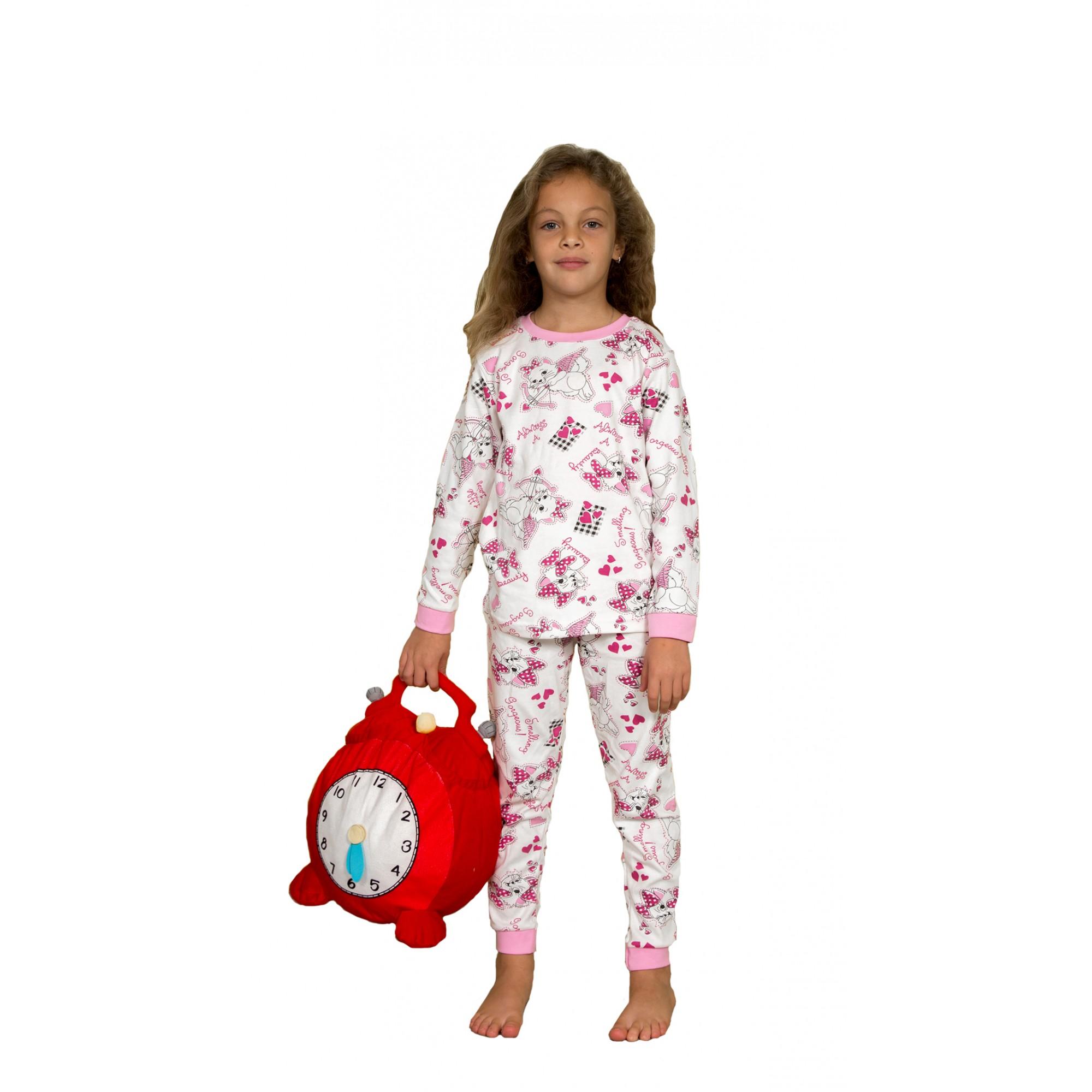 Детска пижама за момиче 100% Памук