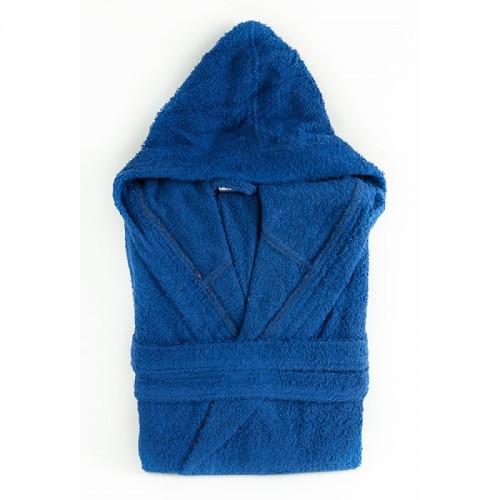 Халат с качулка Blue Diamond - 100% Памук