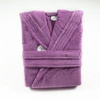 Халат с качулка Purple Passion - 100% Памук
