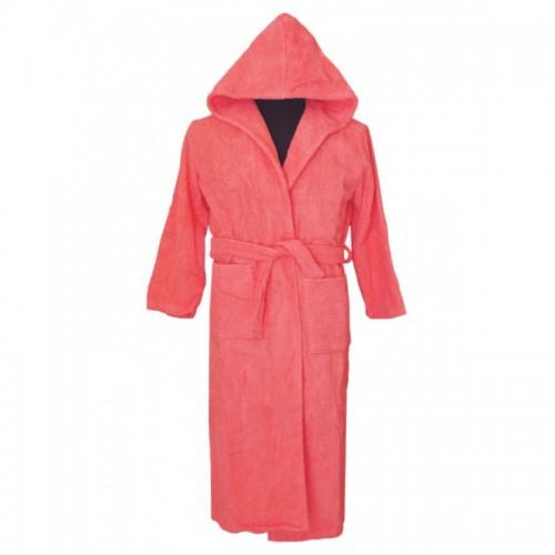 Халат с качулка Pink Velvet - 100% Памук