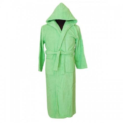 Халат с качулка Spring Green - 100% Памук
