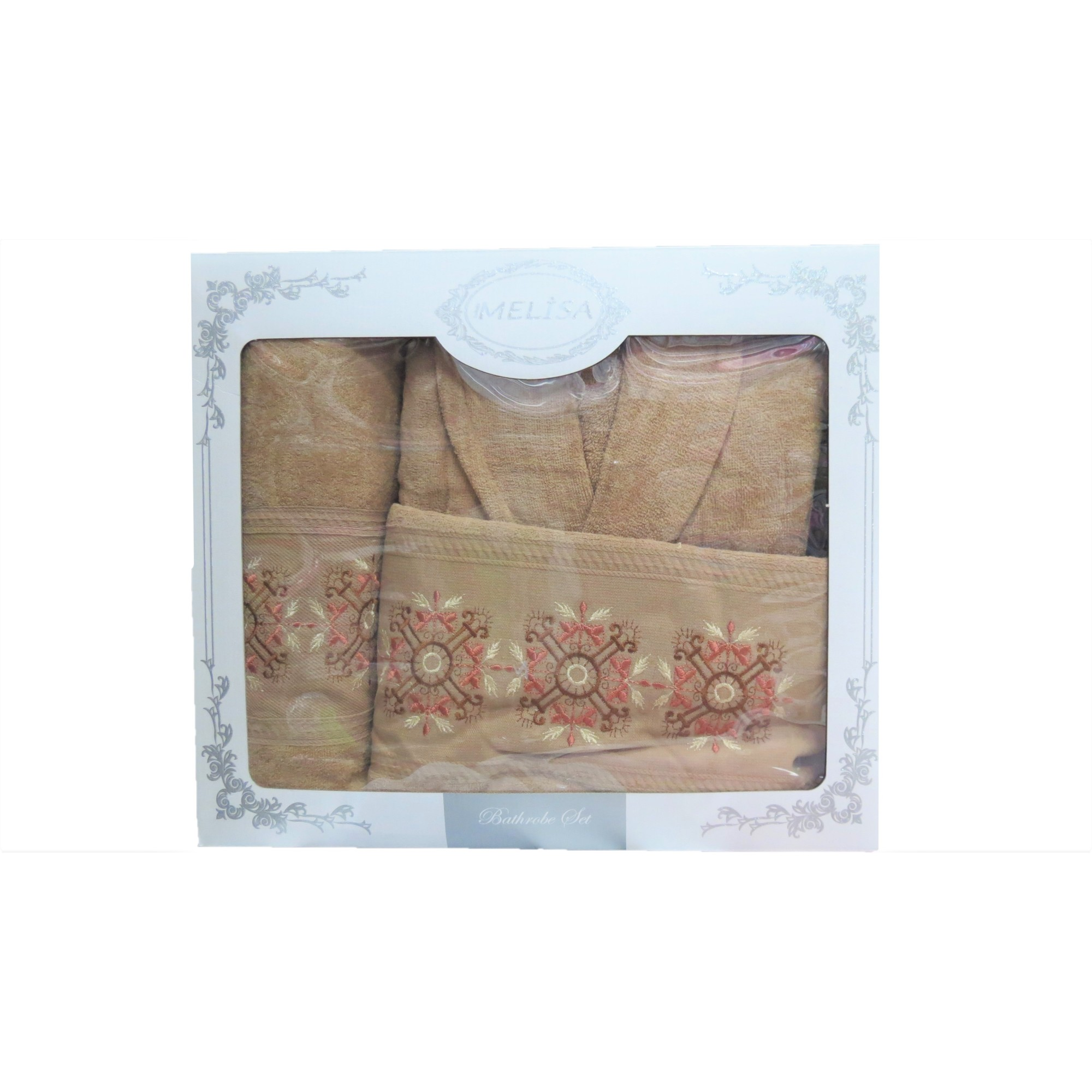 Комплект халат с кърпи Melisa Ornaments