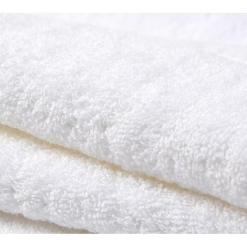 Бяла хавлиена кърпа 30/50 за Хотел