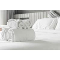 Бяла хавлиена кърпа за баня 70/140 за Хотел