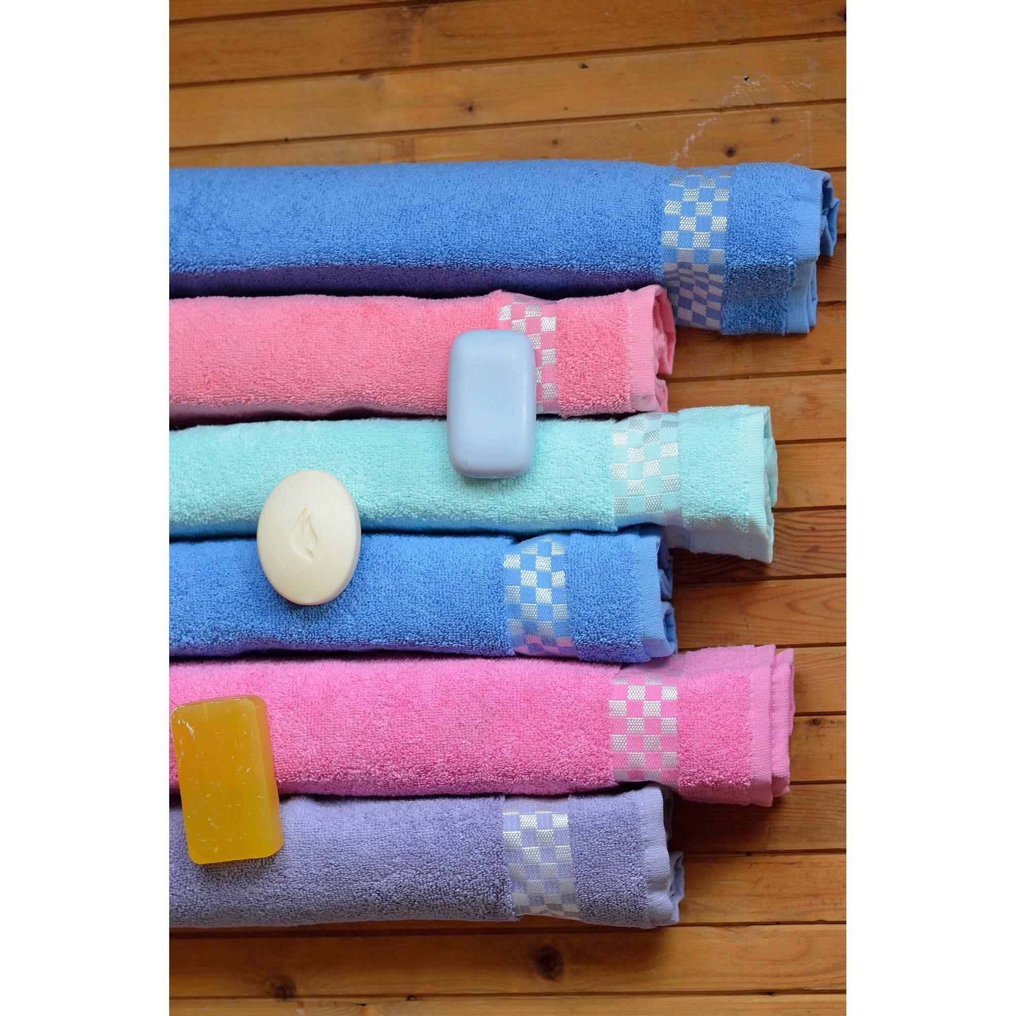 Хавлиена кърпа Квадрати - 100% Памук