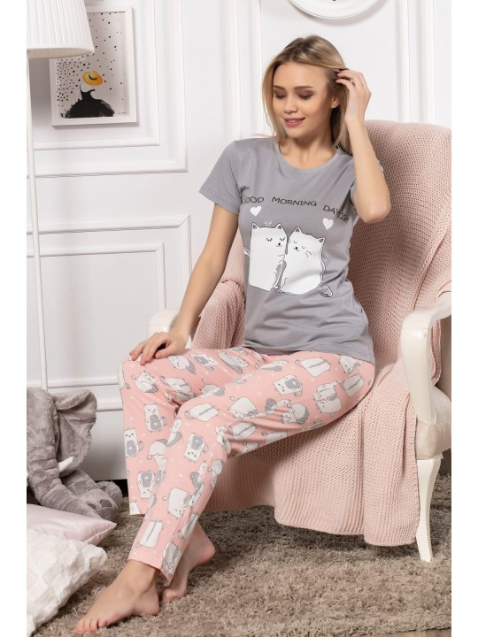 Дамска пижама Inlove Cats
