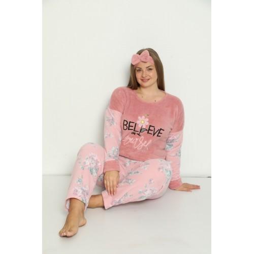 Дамска макси пижама Believe