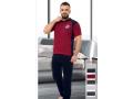 """Мъжка пижама с къс ръкав """"Red Icon"""" - 100% Памук"""