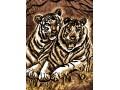 Одеяло 150/200 Тигри от Полиестер