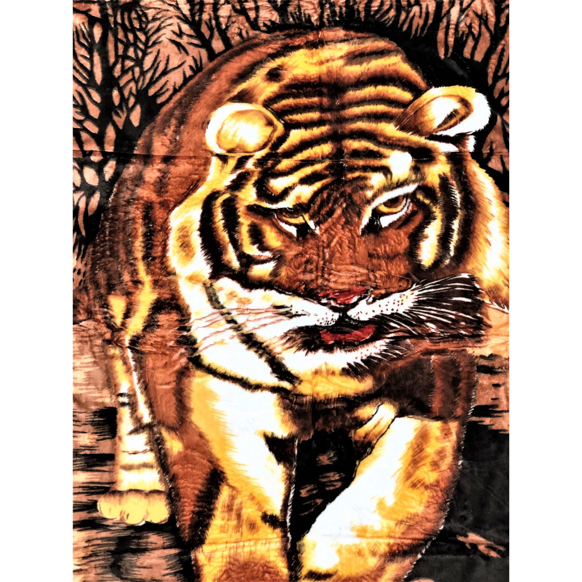Одеяло 100% Полиестер Тигър