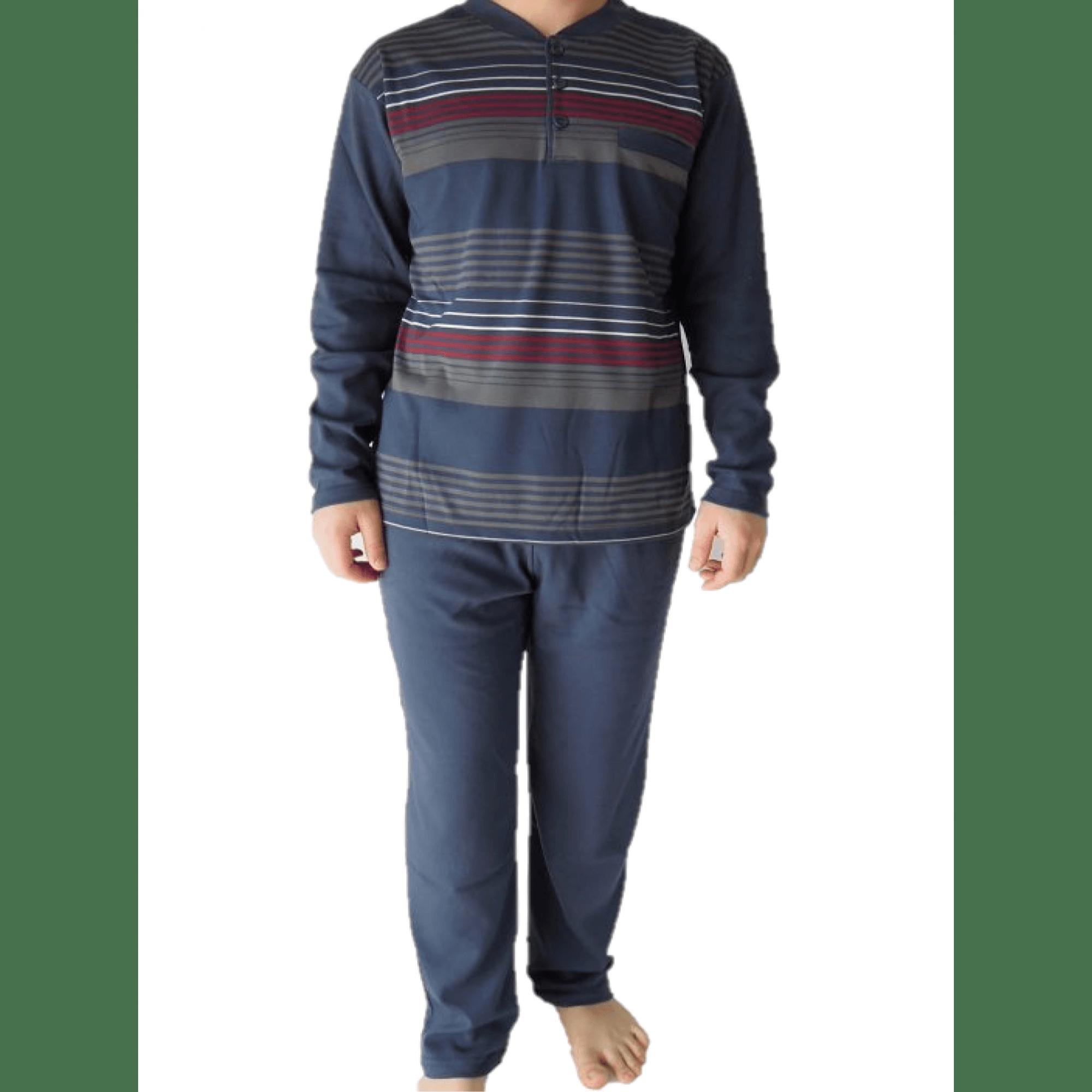 Мъжка зимна пижама от Памук на рае
